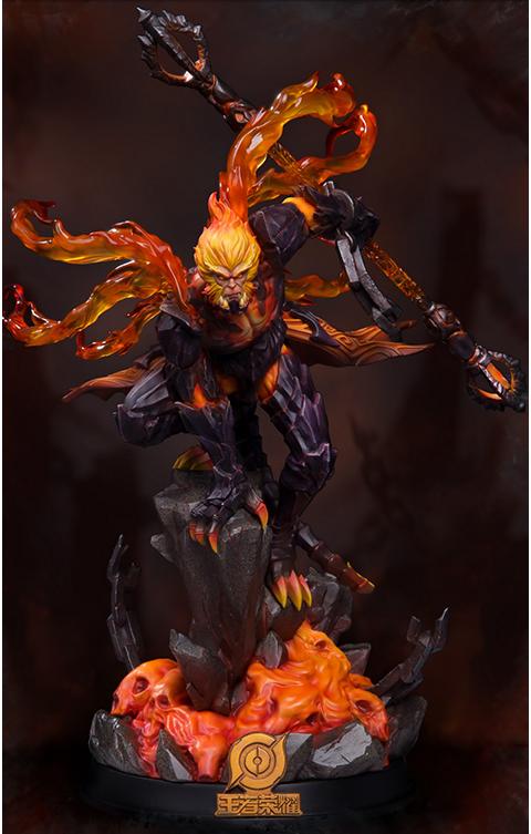 Damtoys Hellfire Sun Wukong (Classic Version) Statue