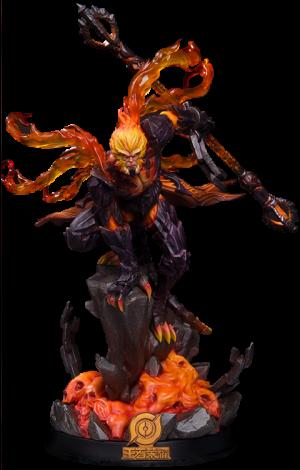 Hellfire Sun Wukong (Classic Version) Statue