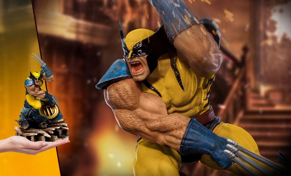 Gallery Feature Image of Wolverine 1:10 Scale Statue - Click to open image gallery