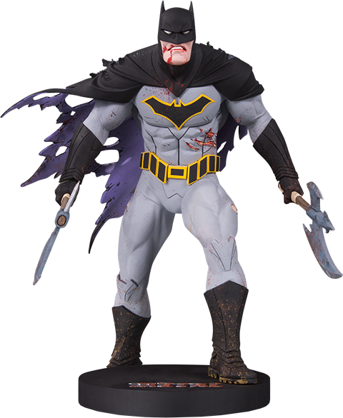 DC Collectibles Metal Batman (Mini) Statue