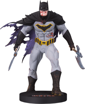Metal Batman (Mini) Statue