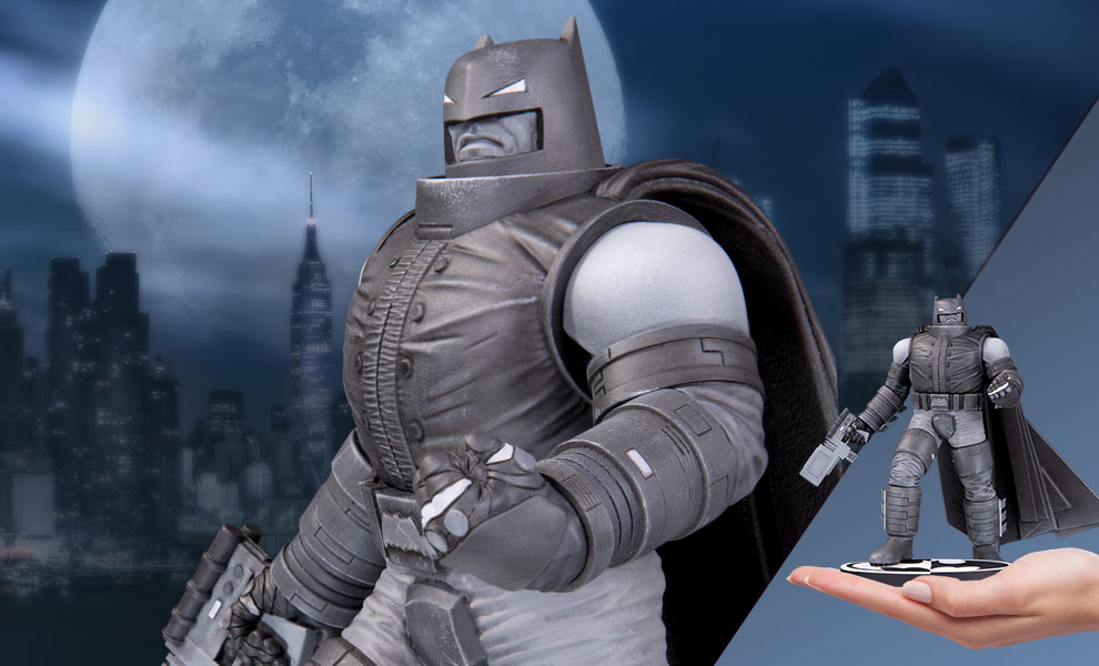 Gallery Feature Image of Armored Batman Statue - Click to open image gallery