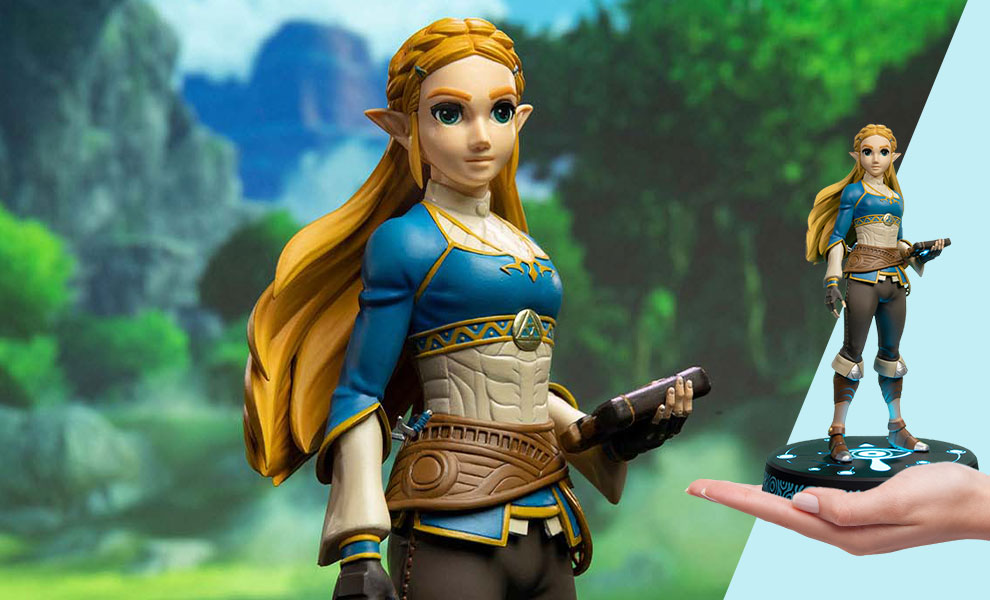 Gallery Feature Image of The Legend of Zelda: Breath of the Wild Zelda (Collector's Edition) Statue - Click to open image gallery