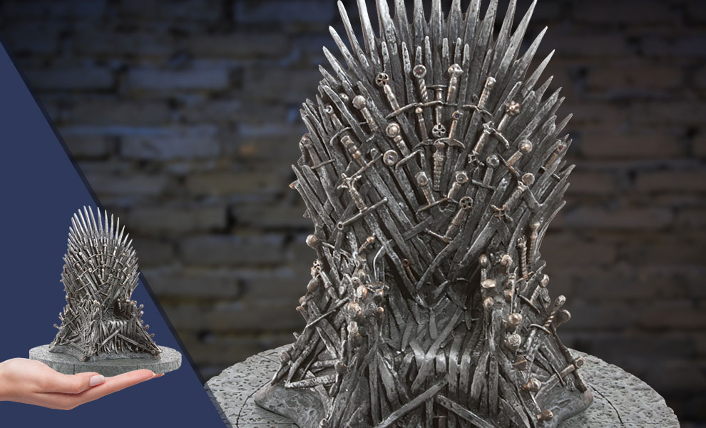 Gallery Feature Image of Iron Throne Replica - Click to open image gallery