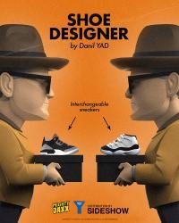 Gallery Image of Shoe Designer Vinyl Collectible
