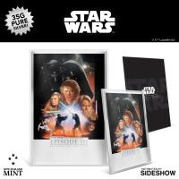 Gallery Image of Revenge of the Sith Silver Foil Silver Collectible