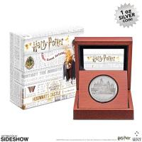 Gallery Image of Hogwarts Castle Silver Coin Silver Collectible