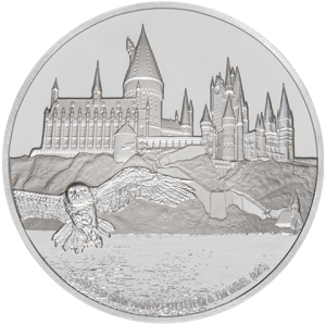 Hogwarts Castle Silver Coin Silver Collectible