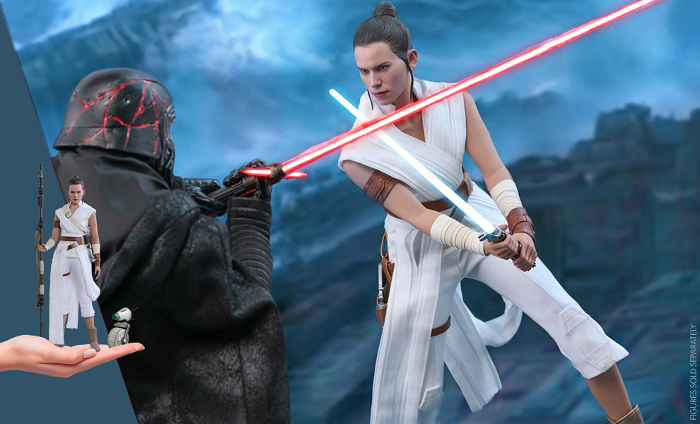 Gallery Feature Image of Rey and D-O Sixth Scale Figure Set - Click to open image gallery