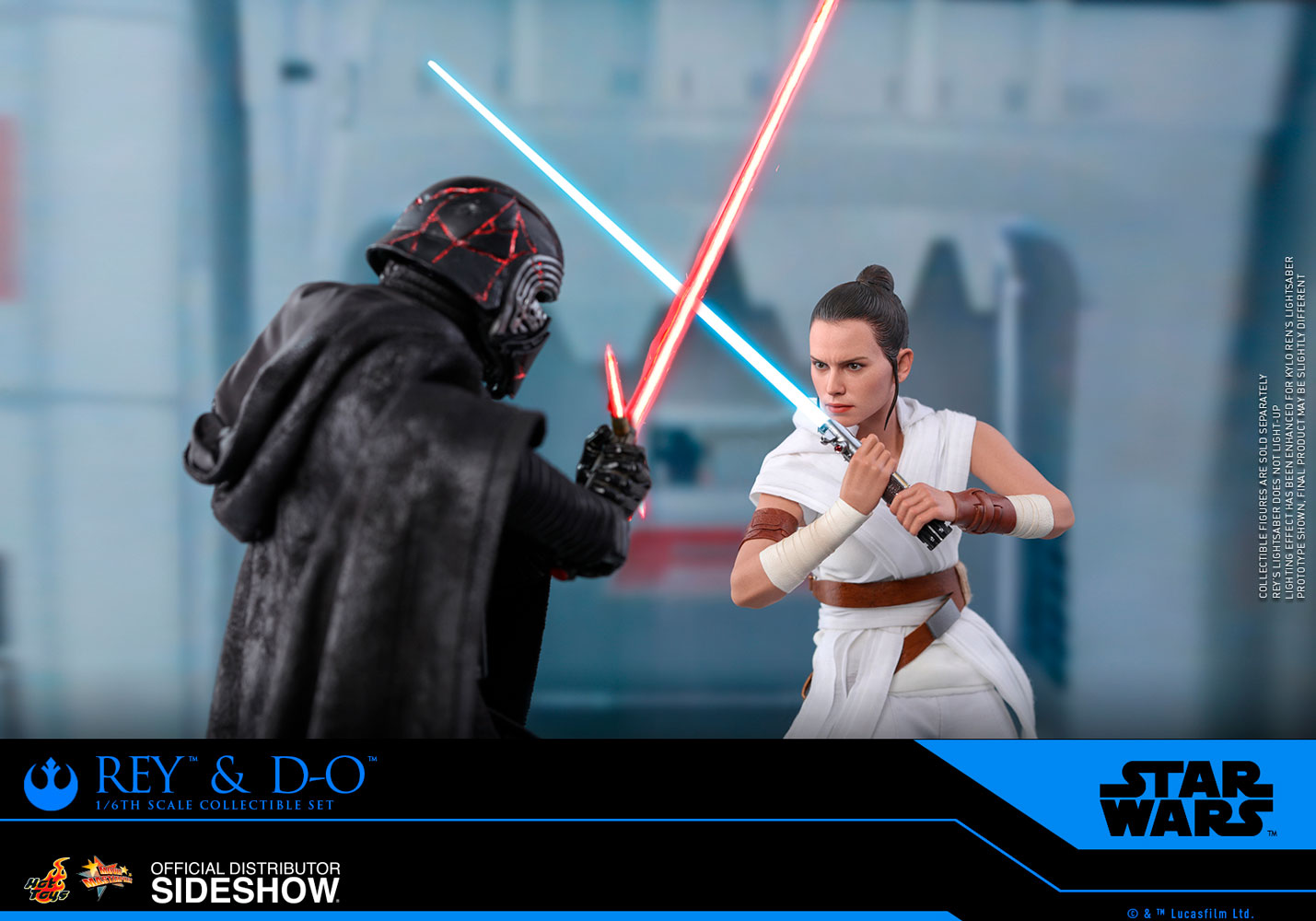 Rey And D O Sixth Scale Figure Collectible Set By Hot Toys Sideshow Collectibles