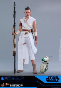 Gallery Image of Rey and D-O Sixth Scale Figure Set