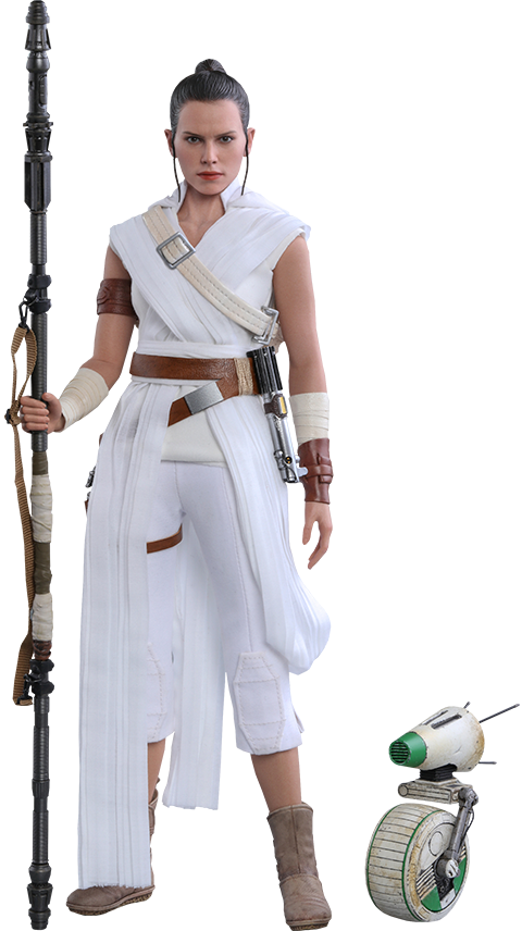 Hot Toys Rey and D-O Sixth Scale Figure Set