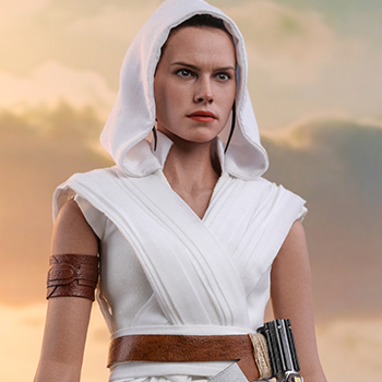 Rey and D-O Sixth Scale Figure Set