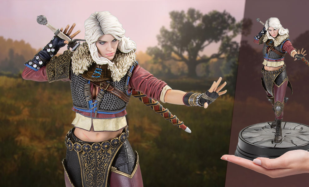 Gallery Feature Image of Ciri (Series 2) Figure - Click to open image gallery