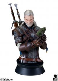 Gallery Image of Geralt Playing Gwent Bust
