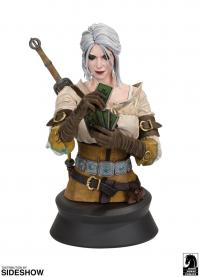 Gallery Image of Ciri Playing Gwent Bust