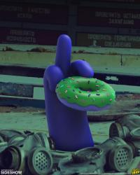 Gallery Image of I Donut Care (Radioactive Glow) Vinyl Collectible