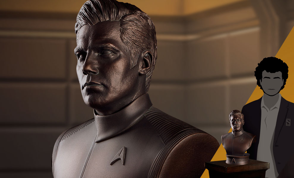 Gallery Feature Image of Captain Christopher Pike Bust - Click to open image gallery