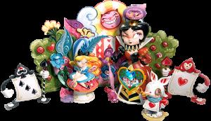 Alice in Wonderland (Deluxe) Collectible Set