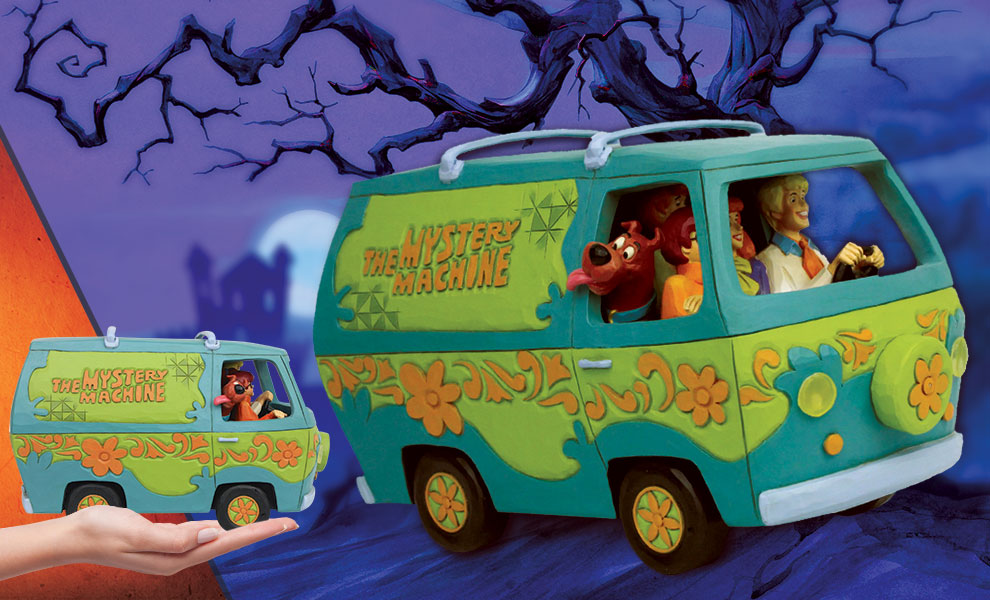 Gallery Feature Image of Scooby-Doo Mystery Machine Figurine - Click to open image gallery