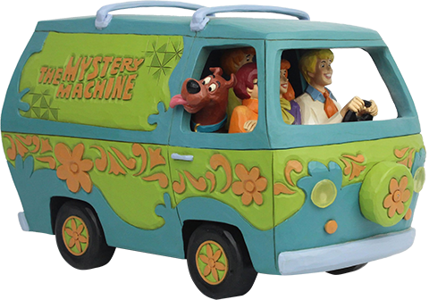 Enesco, LLC Scooby-Doo Mystery Machine Figurine