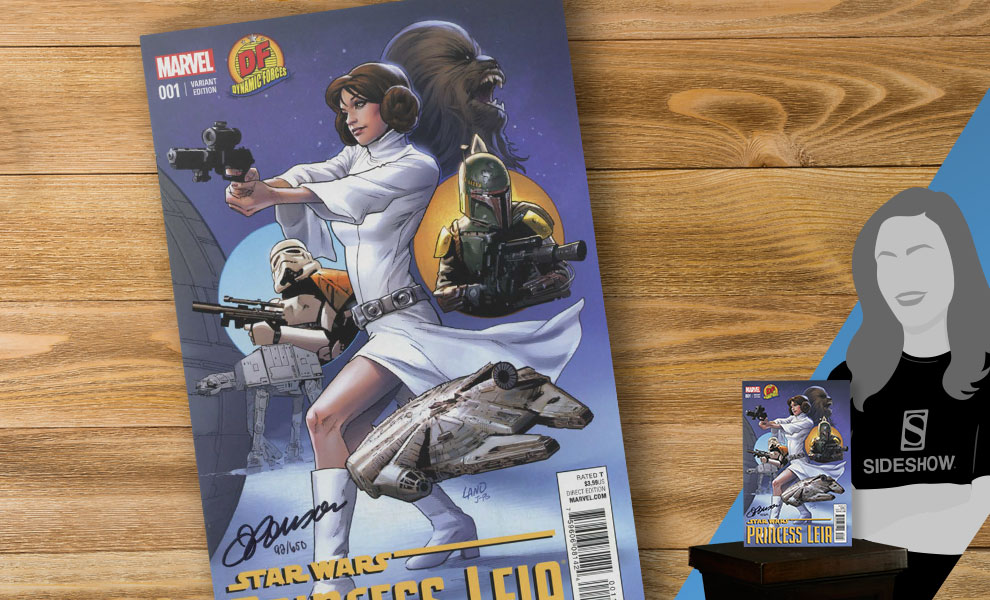 Gallery Feature Image of Star Wars Princess Leia #1 Book - Click to open image gallery
