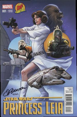 Star Wars Princess Leia #1 Book