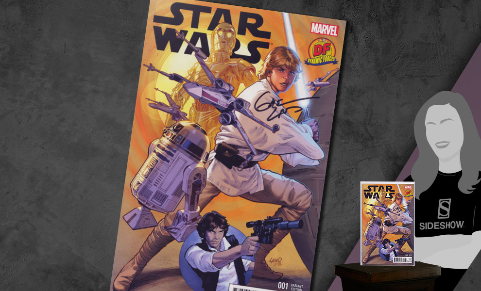 Gallery Feature Image of Star Wars #1 Variant Cover Book - Click to open image gallery