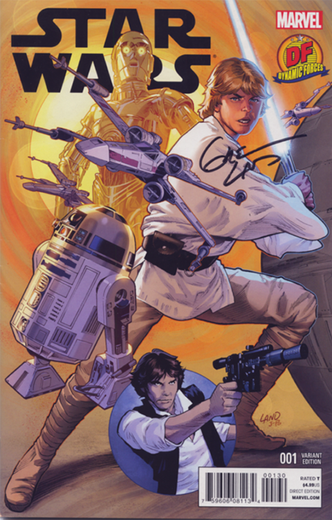 Dynamic Forces Star Wars #1 Variant Cover Book