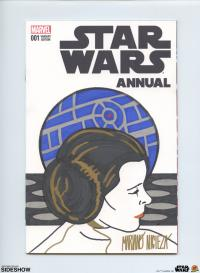 Gallery Image of Star Wars Annual #1 Princess Leia Sketch Cover Book