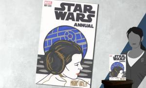 Star Wars Annual #1 Princess Leia Sketch Cover Book