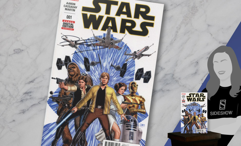 Gallery Feature Image of Star Wars #1 Book - Click to open image gallery
