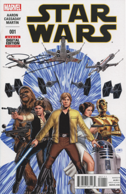 Dynamic Forces Star Wars #1 Book