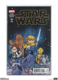 Gallery Image of Star Wars #1 Variant Cover Book