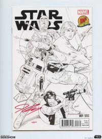Gallery Image of Star Wars #1 B&W Variant Book
