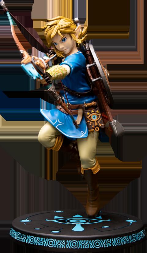 First 4 Figures The Legend of Zelda: Breath of the Wild Link Figure