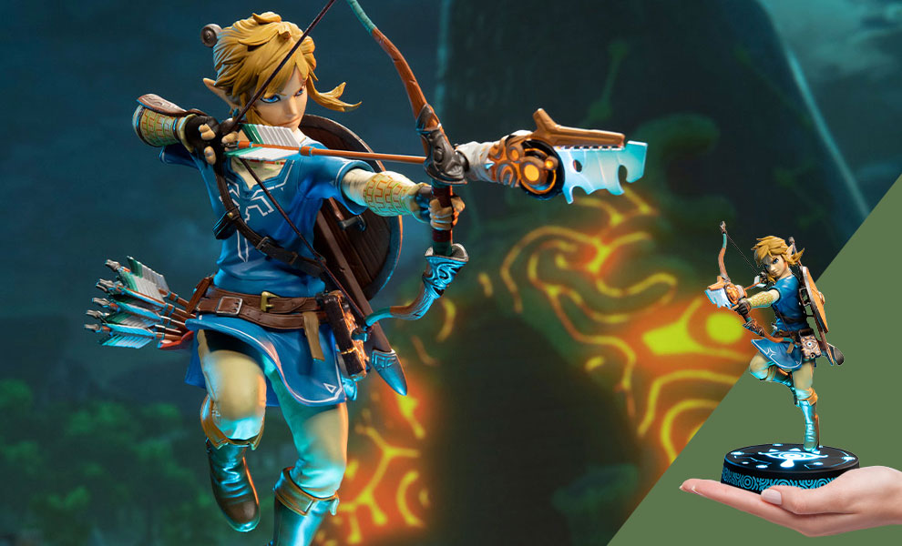 Gallery Feature Image of The Legend of Zelda: Breath of the Wild Link (Collector's Edition) Statue - Click to open image gallery