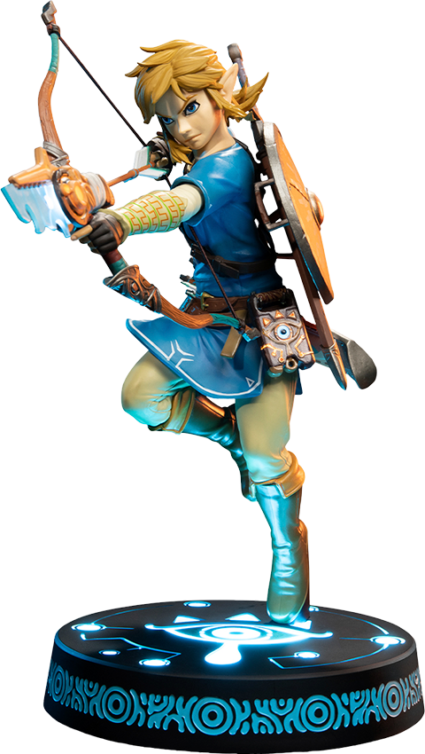 First 4 Figures The Legend of Zelda: Breath of the Wild Link (Collector's Edition) Statue