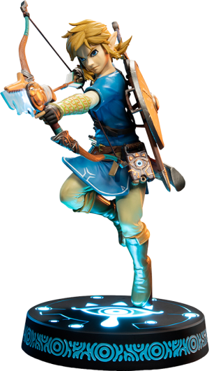 The Legend of Zelda: Breath of the Wild Link (Collector's Edition) Statue