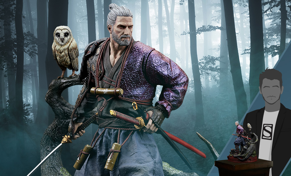 Gallery Feature Image of Geralt Ronin Figure - Click to open image gallery