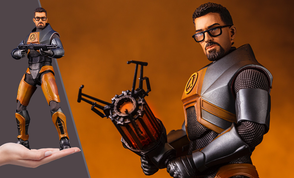 Gallery Feature Image of Gordon Freeman Sixth Scale Figure - Click to open image gallery