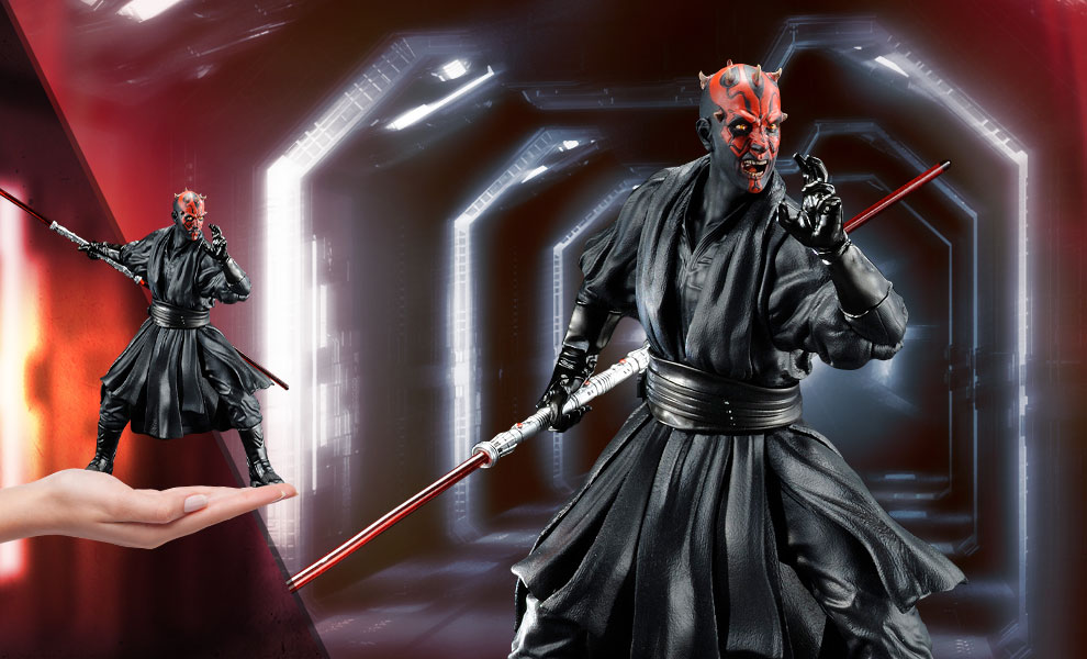 Gallery Feature Image of Darth Maul Statue - Click to open image gallery