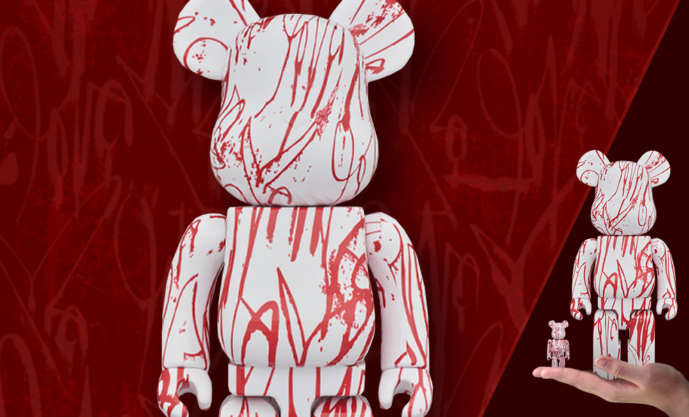 Gallery Feature Image of Be@rbrick Love Me 100% and 400% Collectible Set - Click to open image gallery