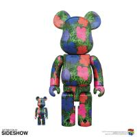 "Gallery Image of Be@rbrick Andy Warhol ""Flowers"" 100% and 400% Collectible Set"