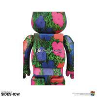 "Gallery Image of Be@rbrick Andy Warhol ""Flowers"" 1000% Figure"