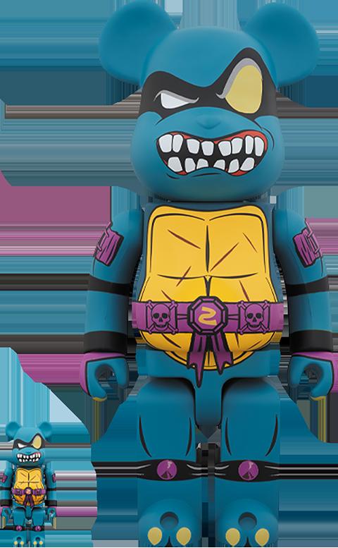 Medicom Toy Be@rbrick Slash 100% and 400% Collectible Set