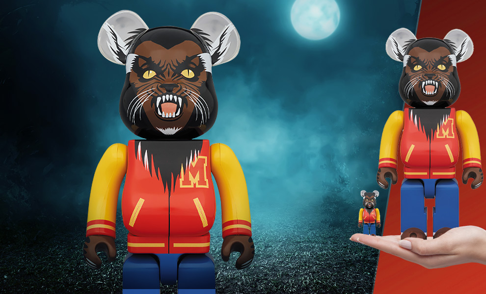Gallery Feature Image of Be@rbrick Michael Jackson Werewolf 100% & 400% Collectible Set - Click to open image gallery