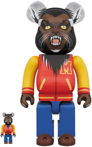 Be@rbrick Michael Jackson Werewolf 100% & 400% Collectible Set