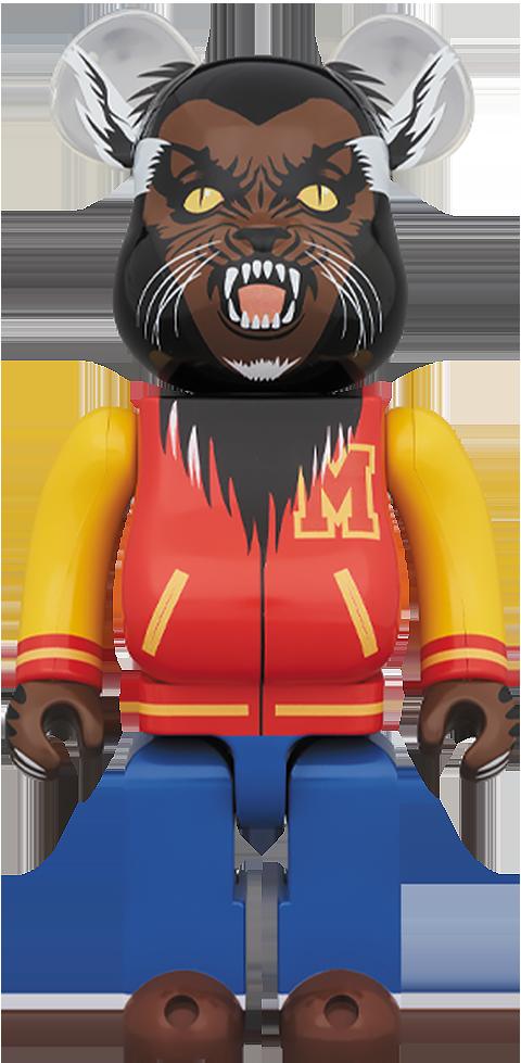 Medicom Toy Be@rbrick Michael Jackson Werewolf 1000% Figure