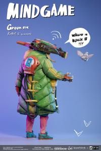 Gallery Image of Green Six Sixth Scale Figure